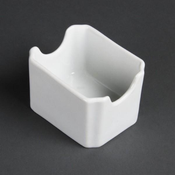Olympia Whiteware Ständer für Zuckertüten 6 Stück