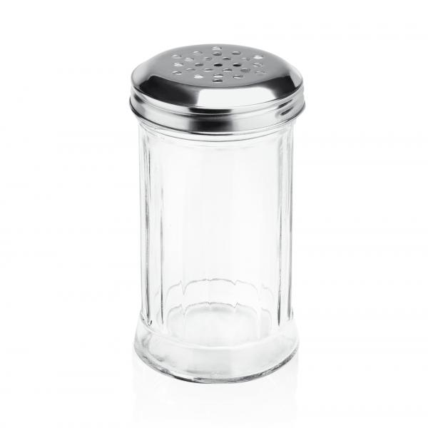 Streuer, 0,30 ltr., Ø 7,5 cm, Glas