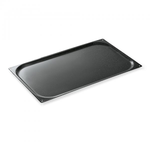 Einschubblech GN 1/1-010 mm, Granit-Emaille