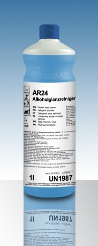 Alkoholglanzreiniger AR24 12 x 1 Ltr. 5fach Konzentrat