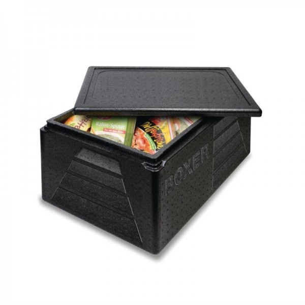 Thermobox Boxer GN1/1 schwarz 42L