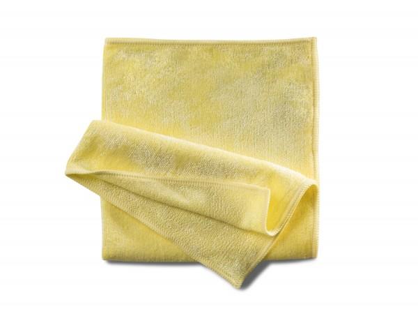 Mikrofasertuch Stretch gelb 40x40 cm 10 Stk.