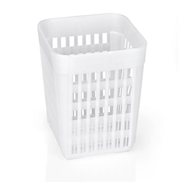 Besteckkorb ohne Einteilungen, 10,7 x 10,7 x 14 cm Polypropylen