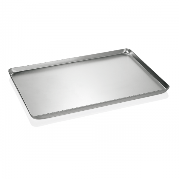 Backblech/Ausstellblech, gebeizt, 60 x 40 x 2 cm, Aluminium