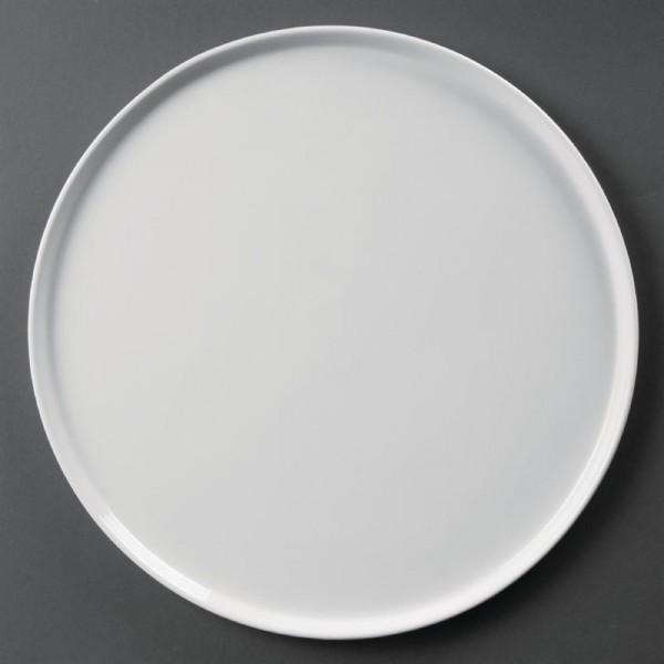 Olympia Whiteware Pizzateller 33cm 4 Stück