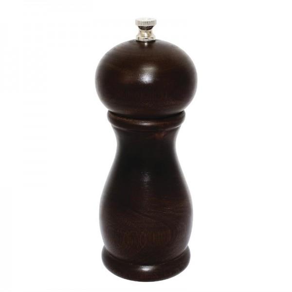 Olympia Salz- und Pfeffermühle dunkles Holz 15,3cm