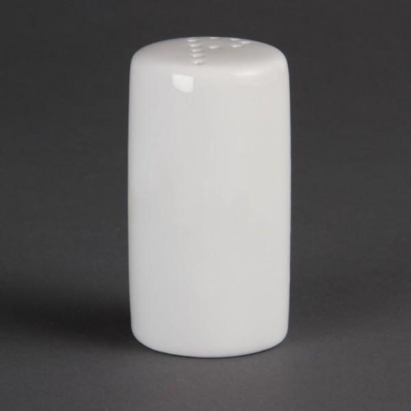Olympia Whiteware Pfefferstreuer 8cm 12 Stück