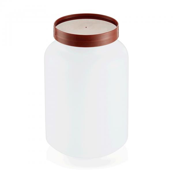 Vorratsbehälter, 2-teilig, 2,0 ltr., braun, Polypropylen