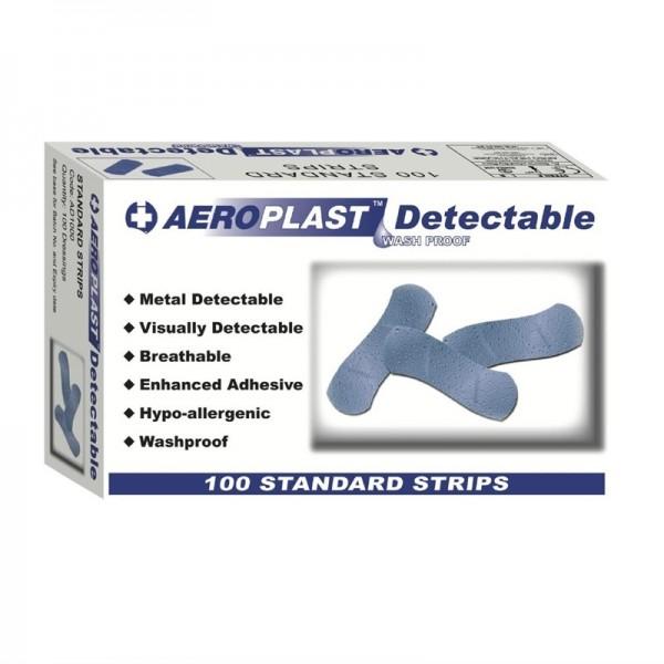 Blaue detektierbare Pflaster 100 Stück