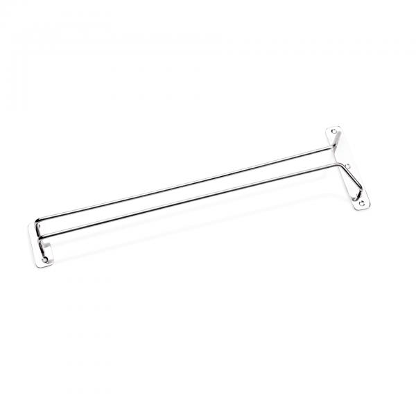 Gläserschiene, 41,5 cm, Chromnickelstahl