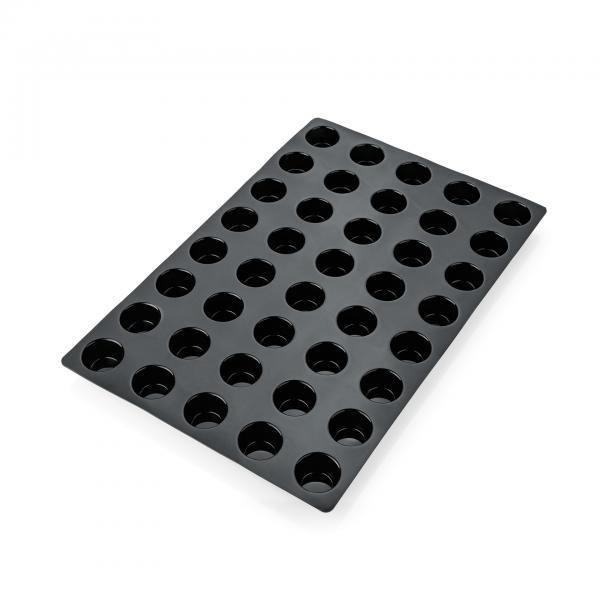 Backform, 40 Formen, Muffin, 59 x 38,5 cm, Silikon
