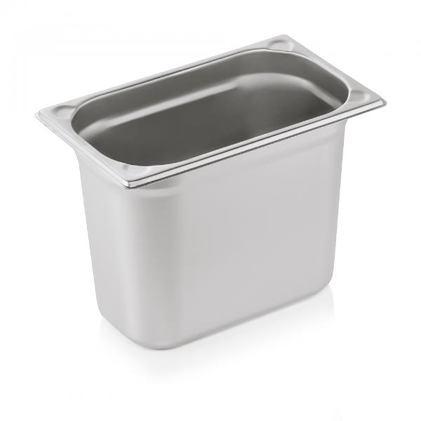 GN Behälter 1/4-200 mm, mit U-Ecken