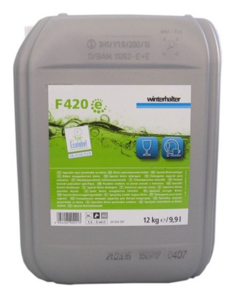 Winterhalter F420 e Spezial-Bistroreiniger Ecolabel 12 Kg