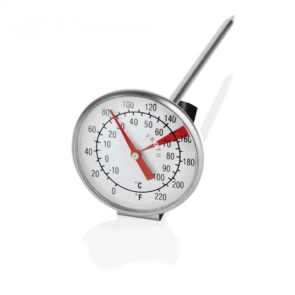 Milchschaumthermometer, Chromnickelstahl