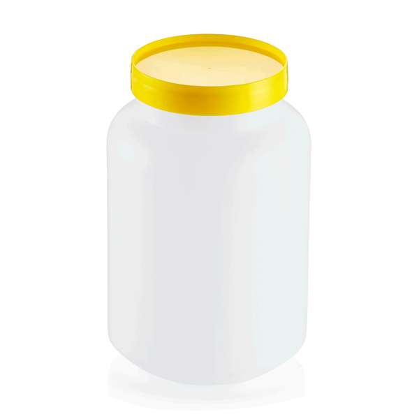 Vorratsbehälter, 2-teilig, 2,0 ltr., gelb, Polypropylen
