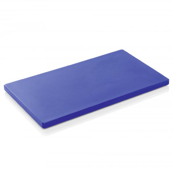 Schneidbrett HACCP, 60 x 40 x 2 cm, blau, Polyethylen