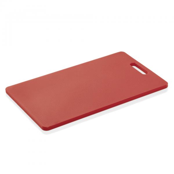 Schneidbrett HACCP, 40 x 25 x 1,2 cm, rot, Polyethylen