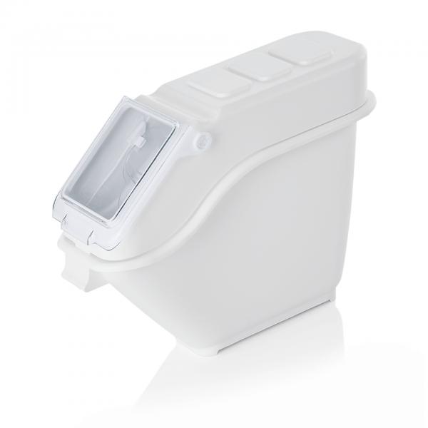 Zutaten-/Lagerbehälter mit Polycarbonat Deckel, 20 ltr., Polypropylen