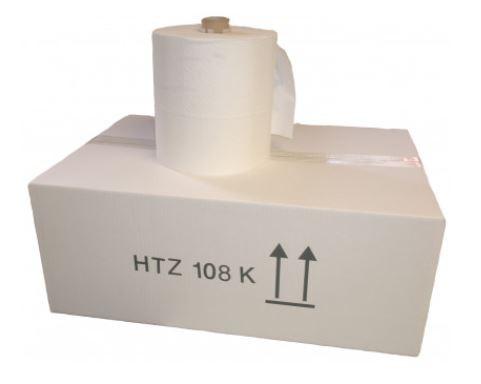 Cosmos Handtuchpapier Rolle 2-Lagig Hochweiss 140 m