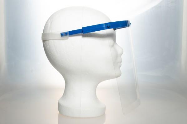 Gesichtsschild Blue mit hohem Tragekomfort Einheitsgröße