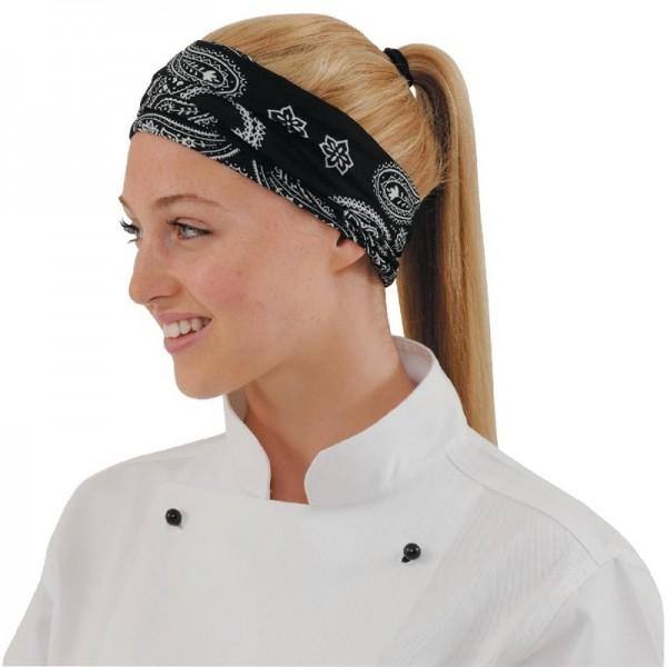 Buff Kochbandana schwarz-weiß