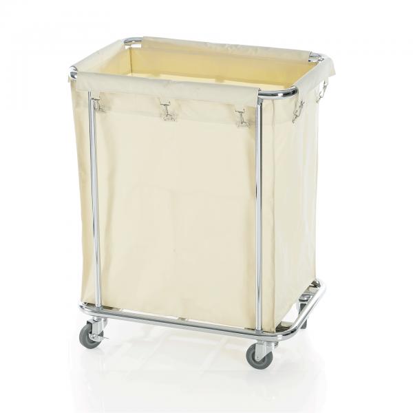 Wäschewagen, 65 x 45 x 84 cm, verchromt