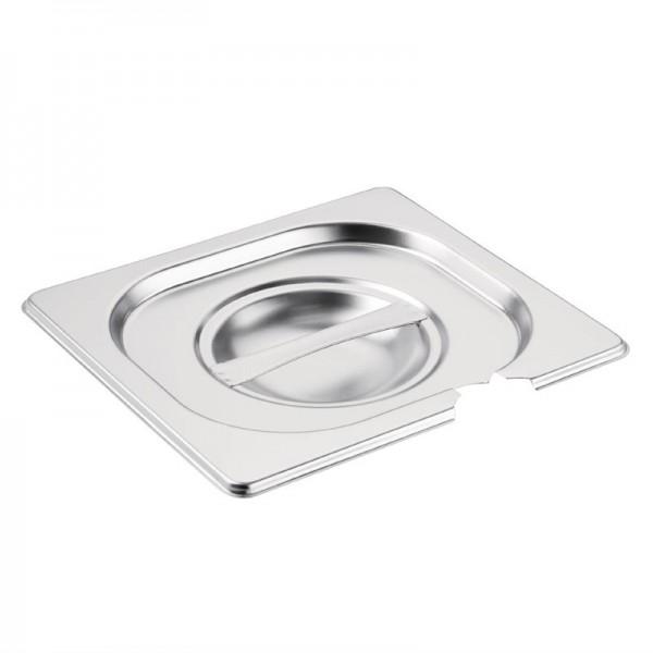 Vogue Deckel mit Löffelaussparung für GN-Behälter GN1/6