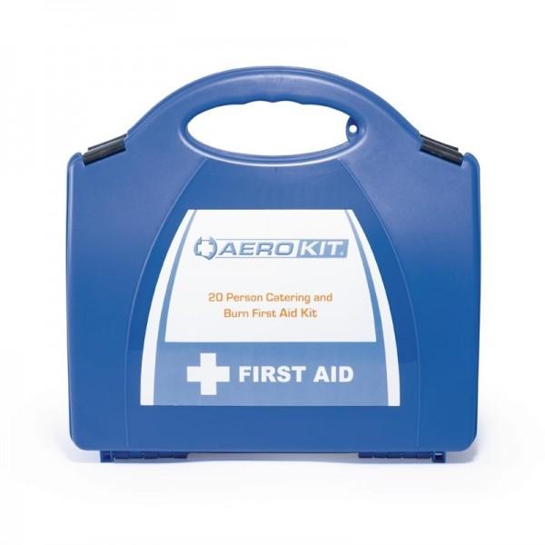 Erste-Hilfe-Kasten und Brandwundenset mittelgroß
