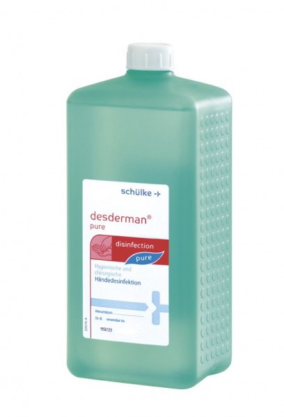 Desderman Pure® Händedesinfektionsmittel 1 Ltr. Euroflasche