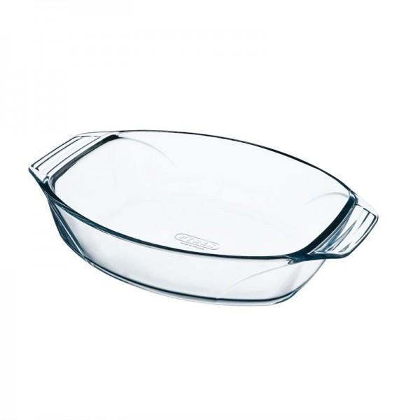 Pyrex ovale Schale 30x21cm