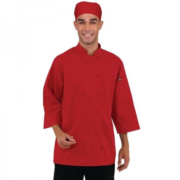 Chef Works Unisex Kochjacke rot XXL