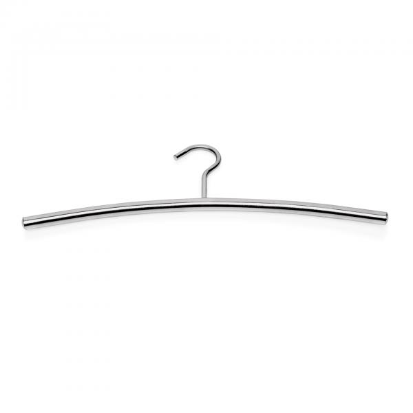 Kleiderbügel, 43 x 12 cm, Chromnickelstahl