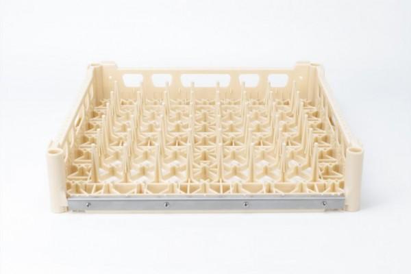 Fries Tablettkorb beige, verstärkt mit Edelstahlschiene
