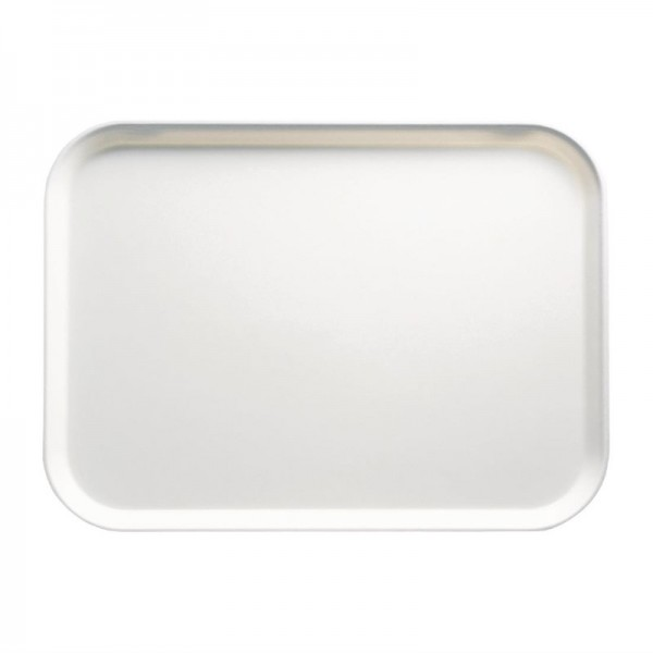 Cambro Camtray Glasfaser Tablett weiß 45,7cm