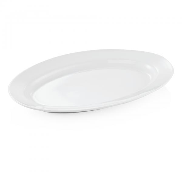 Platte, oval, 50 x 33 cm, Porzellan