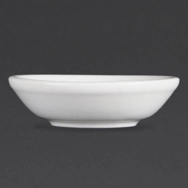 Olympia Whiteware Sojasaucenschälchen 7cm 12 Stück