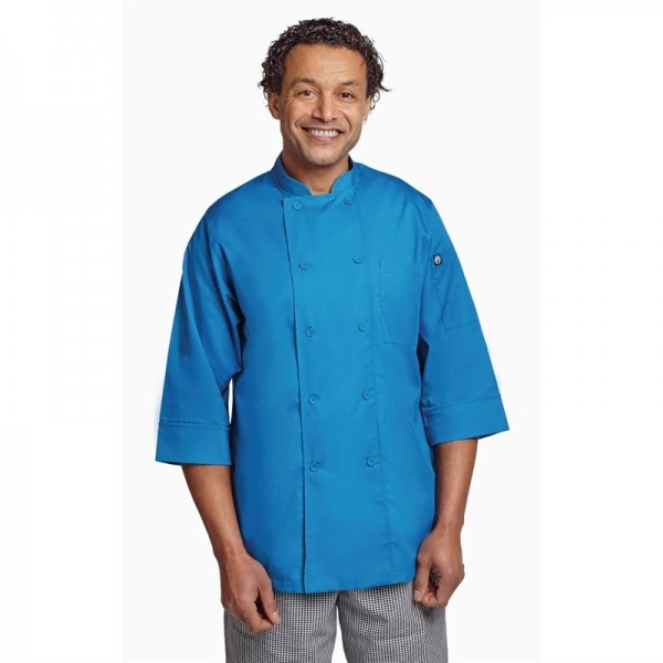 Chef Works Unisex Kochjacke blau XXL