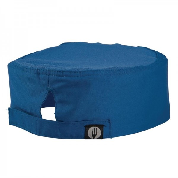 Chef Works Cool Vent Beanie blau