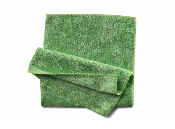 Mikrofasertuch Stretch grün 40x40 cm 10 Stk.