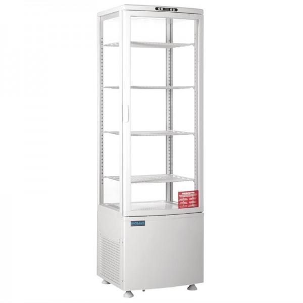 Polar Serie C Kühlvitrine mit gebogener Tür 235L