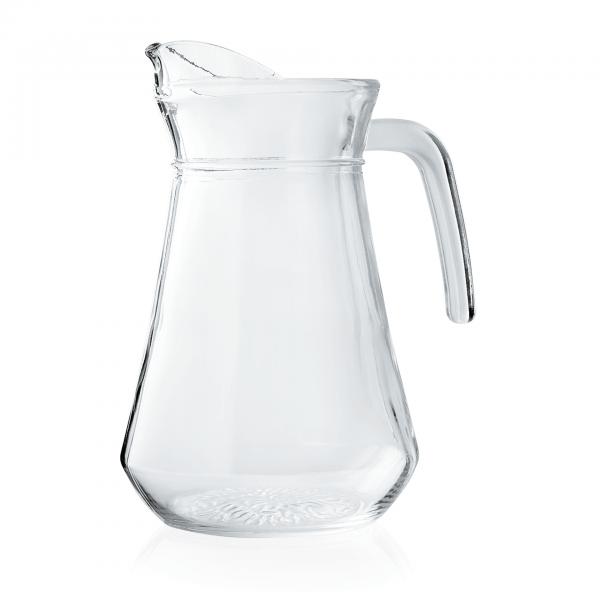 Krug mit Eislippe, 1,00 ltr., Glas