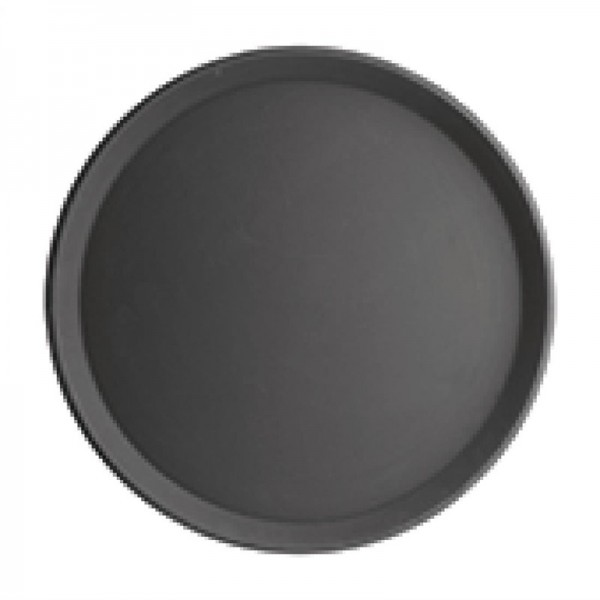 Kristallon Polypropylen Antirutsch Serviertablett rund 40,6cm