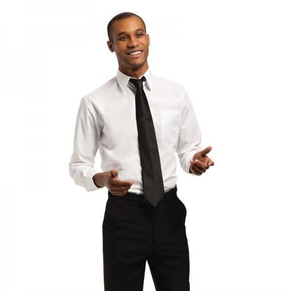 Uniform Works Unisex Oberhemd weiß L