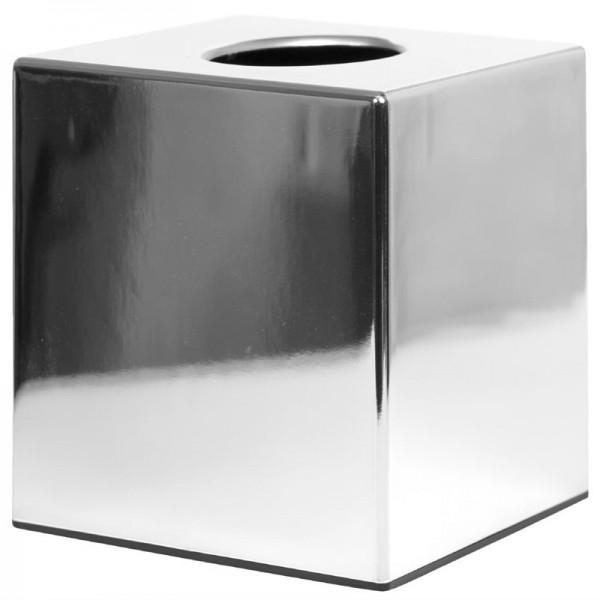 Bolero Taschentuchbox Kubus Chrom