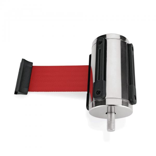 Einzelgurtband für Abgrenzungspfosten Highflex 1114 100 & 104, rot, 2 m