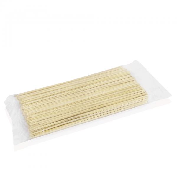Fleischspieß Set, 25 cm, VPE 250 Stück, Bambus