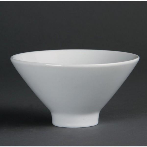 Olympia Whiteware konische Schalen 14cm 4 Stück