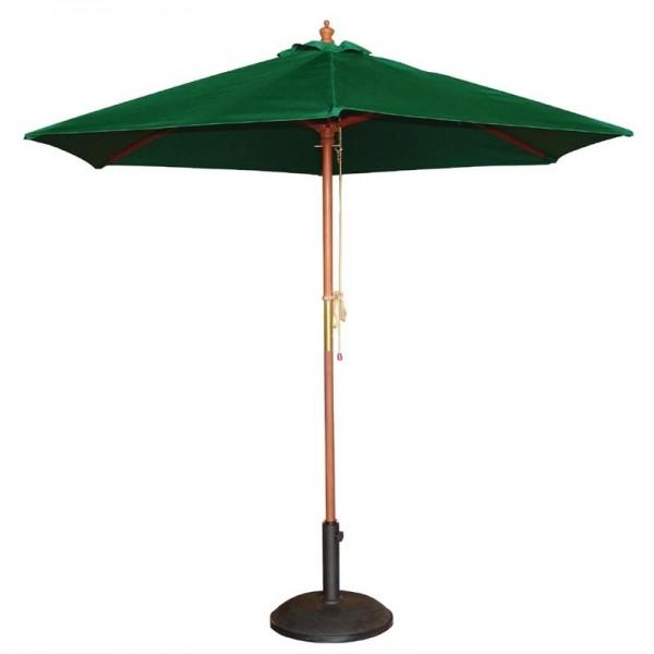 Bolero runder Sonnenschirm grün 2,5m