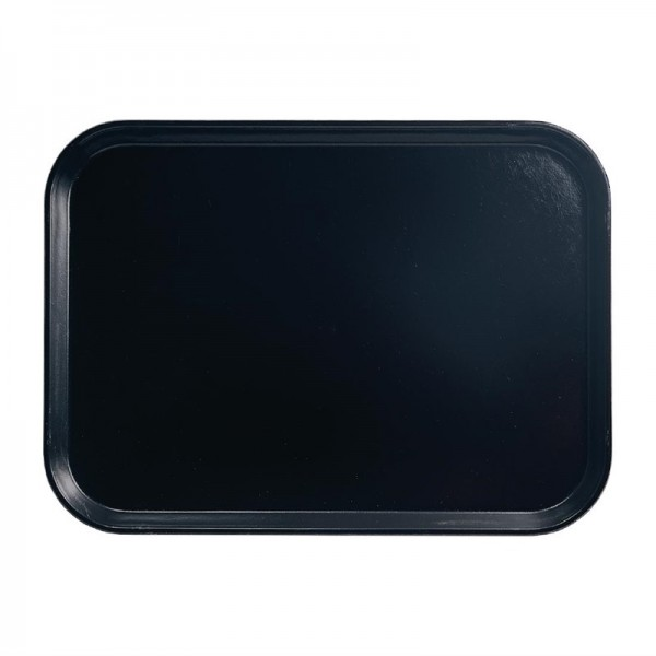 Cambro Camtray Glasfaser Tablett schwarz 45,7cm