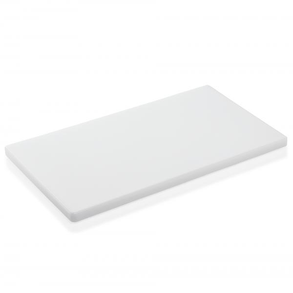 Schneidbrett HACCP, 50 x 30 x 2 cm, weiß, Polyethylen